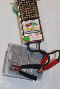 Druppellader op 12 volt