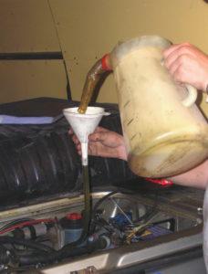 Versnellingsbak olie verversen
