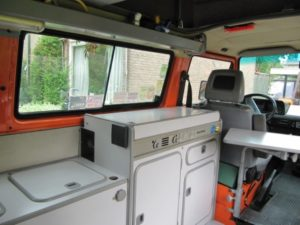 Westfalia interieur