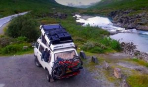 Arctic Overland door Campervan Culture